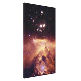 Emission Wrapped Canvas Prints.