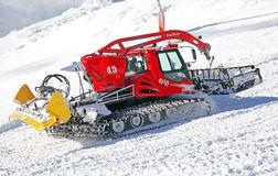 The Pisten Bully 600 Groomer For Ski Slopes Preparation Editorial.
