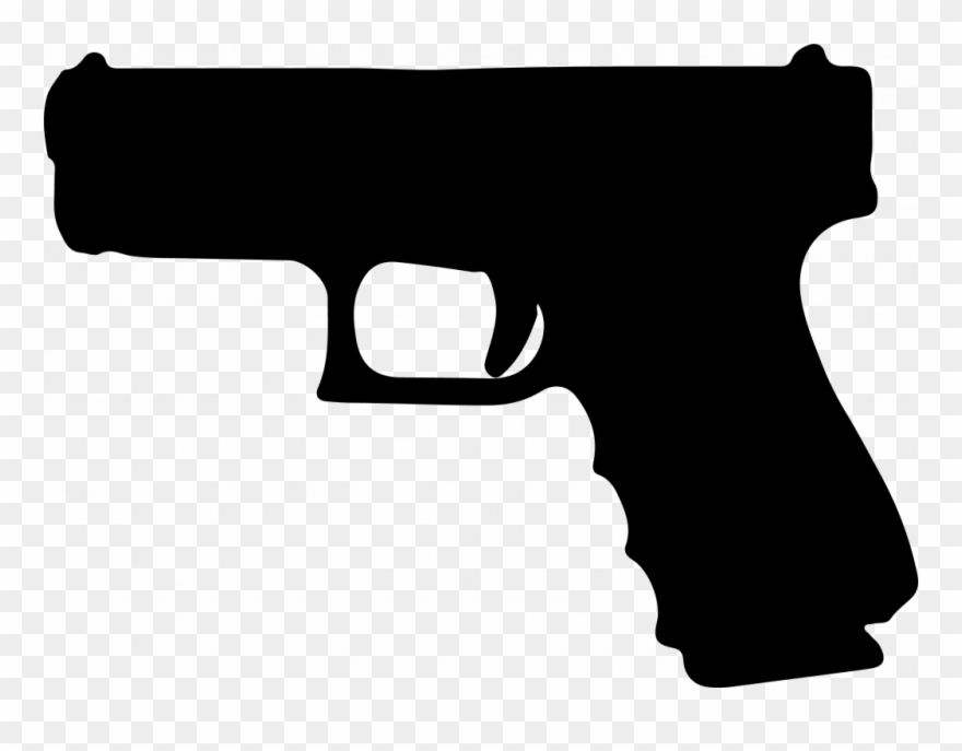 Graphic Royalty Free Library Pistol Clipart Glock Free.