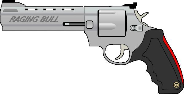 Pistol gun clip art free vector 4vector.