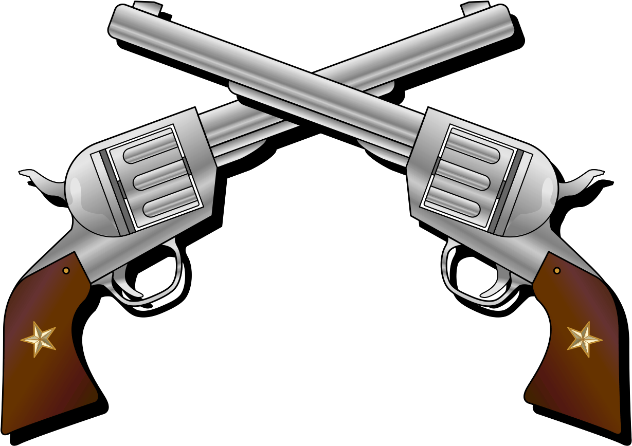 Png Royalty Free Stock Pistol Clipart Free On.