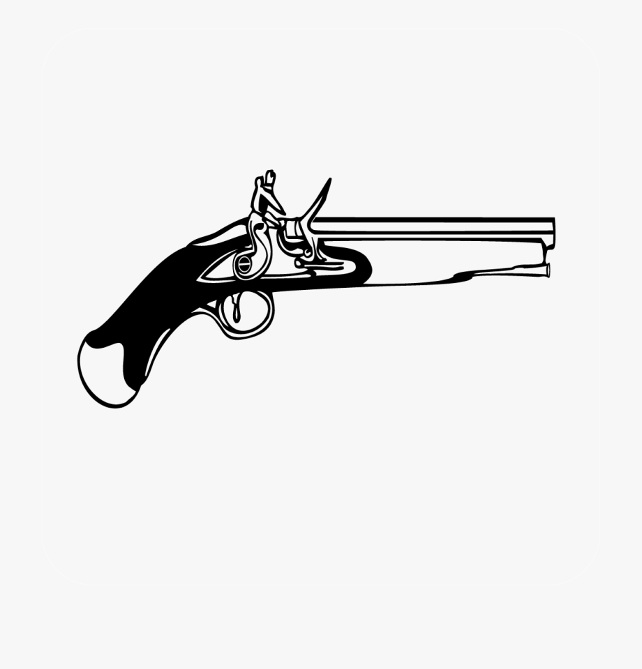 Shooting Clipart Antique Rifle.
