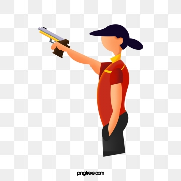 Pistol Shooting Png, Vector, PSD, and Clipart With.