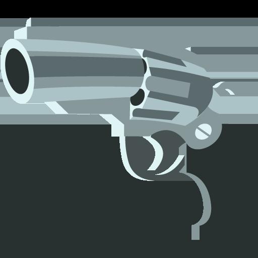 Pistola Emoji Png Vector, Clipart, PSD.