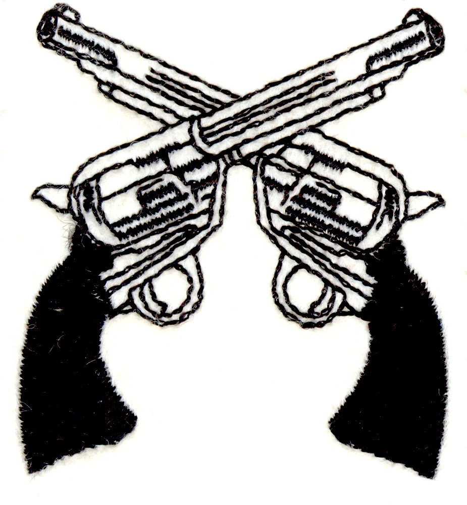 Pistols clipart.