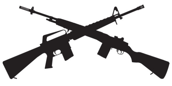 Shotguns Clipart.