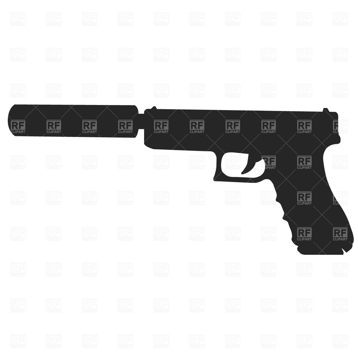 Rifle, sporting gun Vector Image #374.