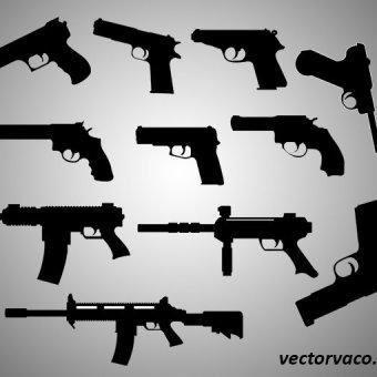 60+ Gun Vectors.