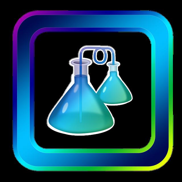 Free illustration: Icon, Chemistry, Piston, Glass.