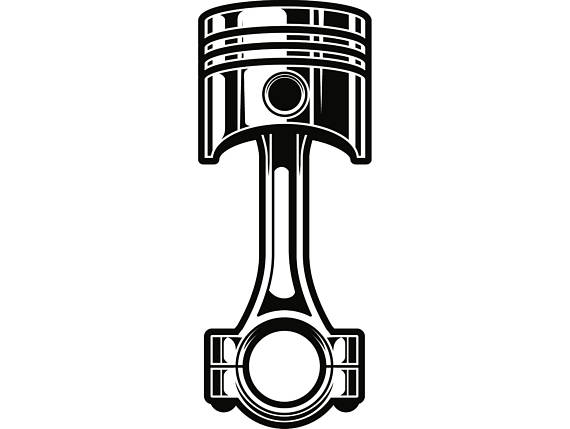 Piston Clipart.