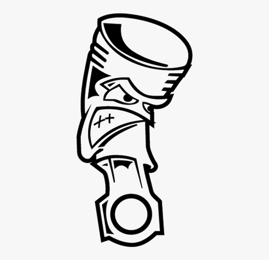 Angry Piston Vector , Free Transparent Clipart.