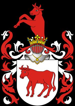 Prus II Wilczekosy coat of arms.