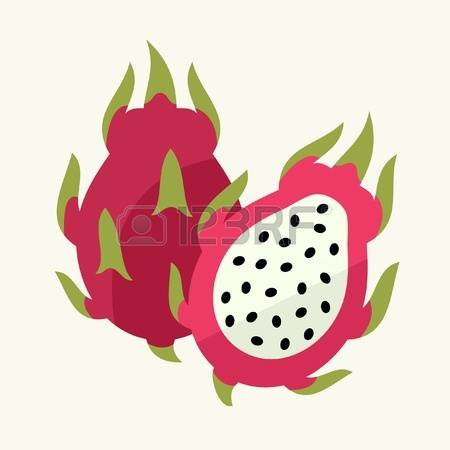 1,808 Dragon Fruit Stock Vector Illustration And Royalty Free.