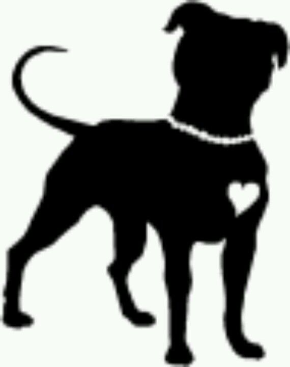 The best free Pitbull silhouette images. Download from 144.