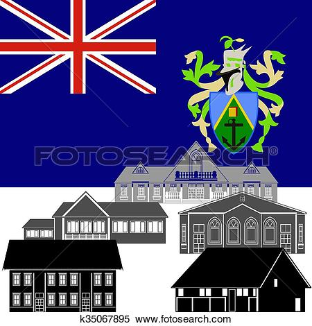 Stock Illustration of Pitcairn Islands k35067895.