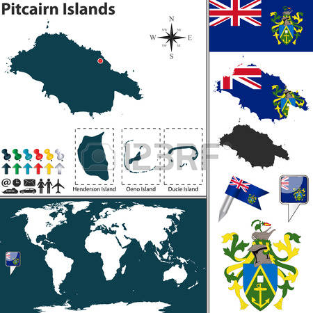 339 Pitcairn Islands Stock Vector Illustration And Royalty Free.