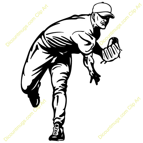 Baseball Player Clipart.