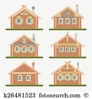 Pitched roof Clip Art and Illustration. 52 pitched roof clipart.