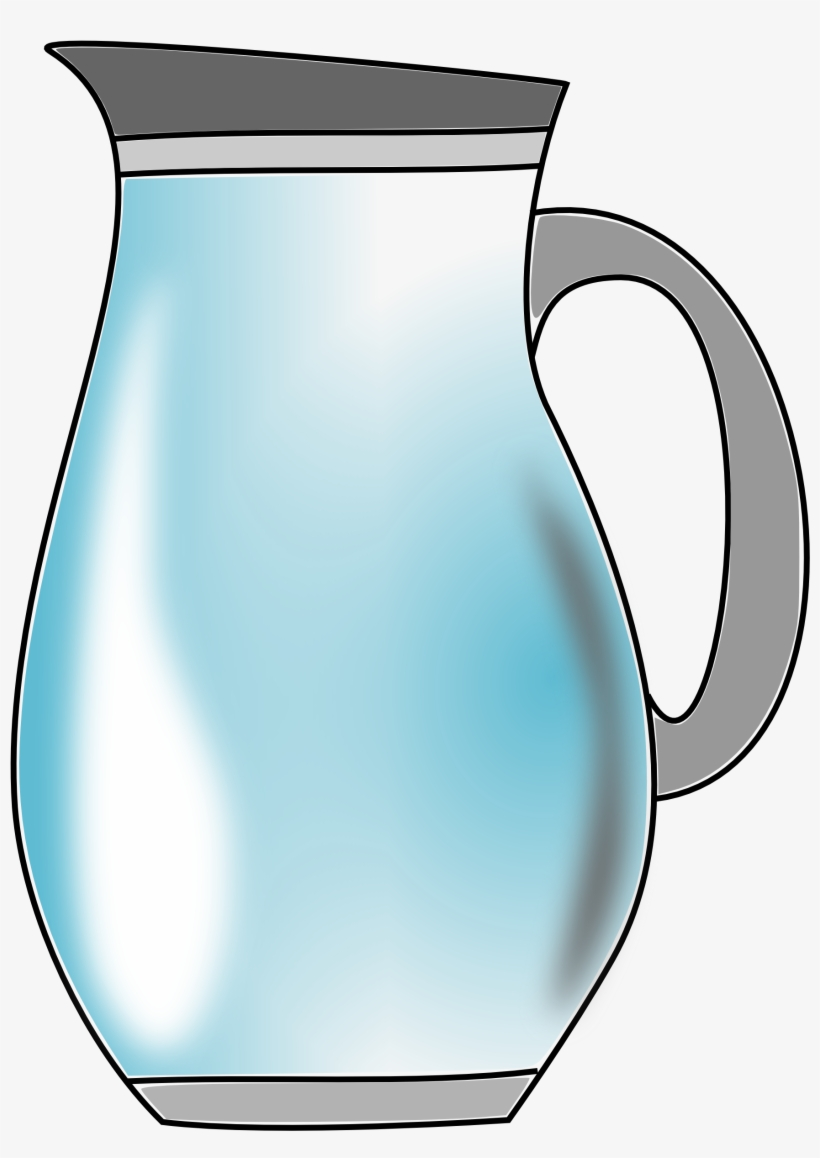 Pitcher Of Water Clipart Transparent PNG.