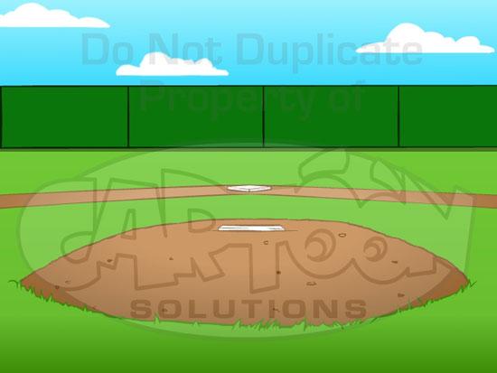 Baseball Field Background Clipart.