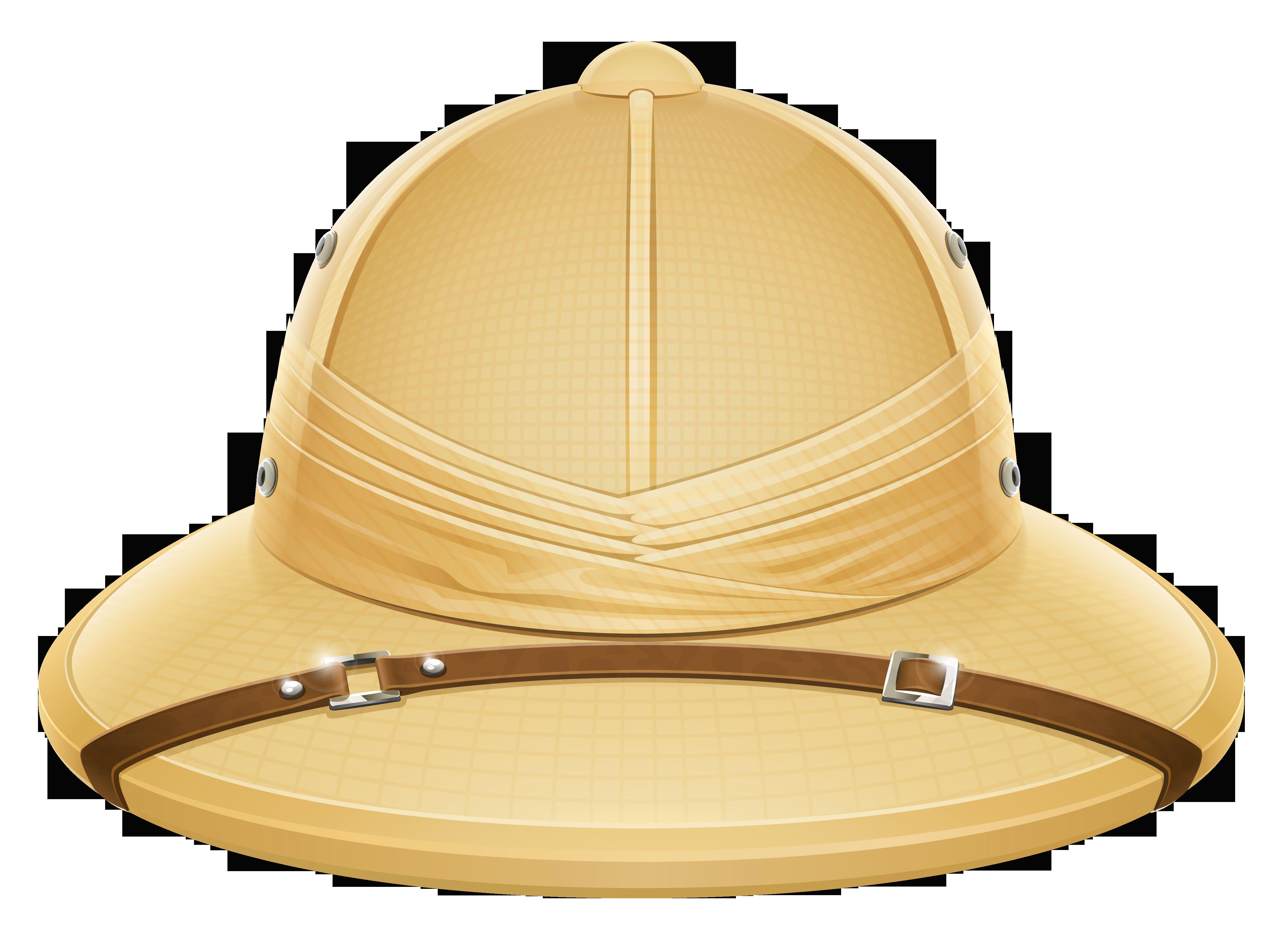 Pith Helmet PNG Cipart.