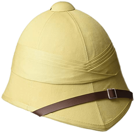 British Foreign Services Pith Helmet transparent PNG.