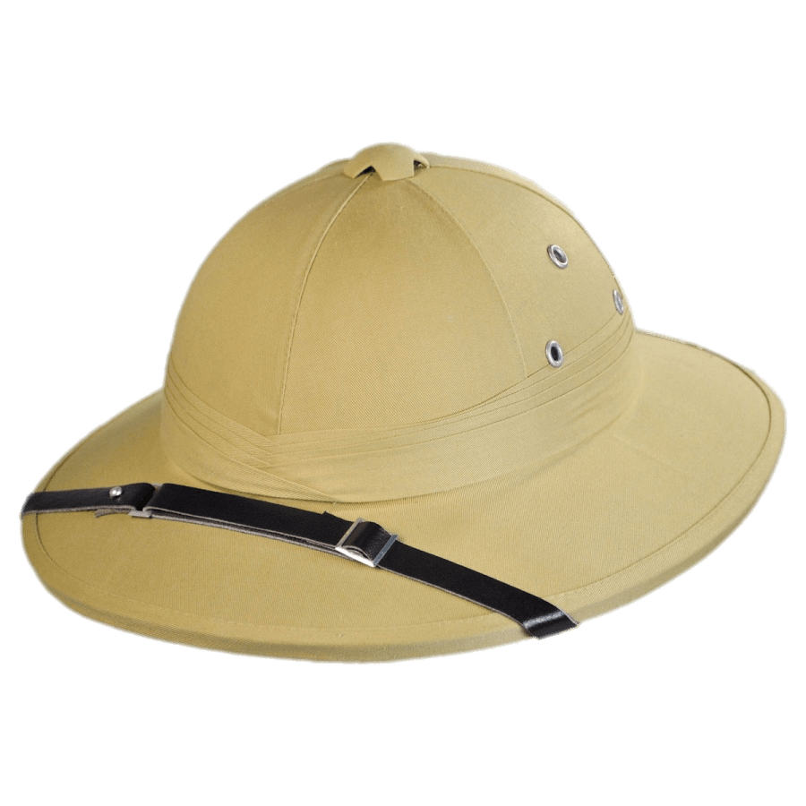 French Pith Helmet transparent PNG.