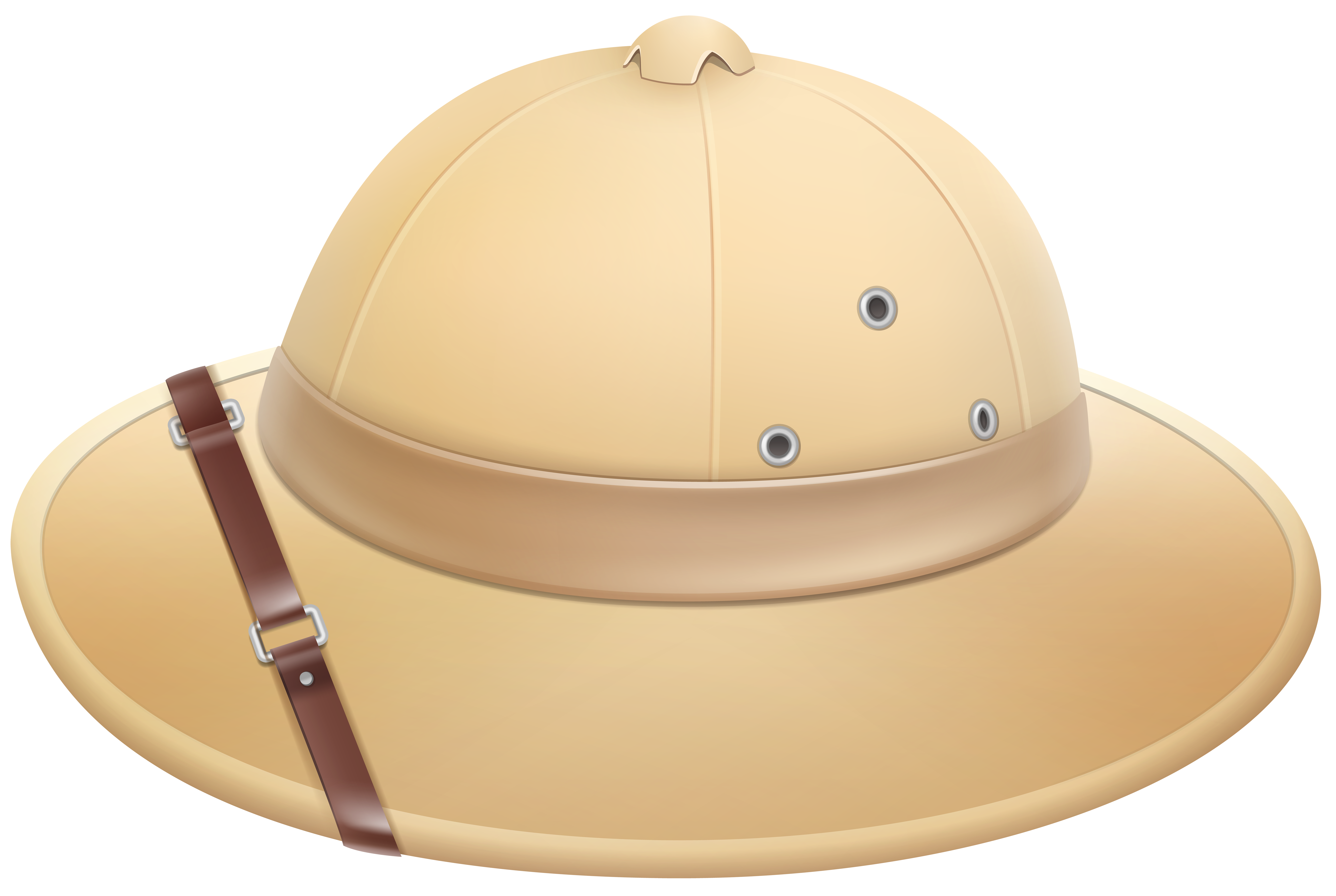 Pith Helmet PNG Clip Art Image.
