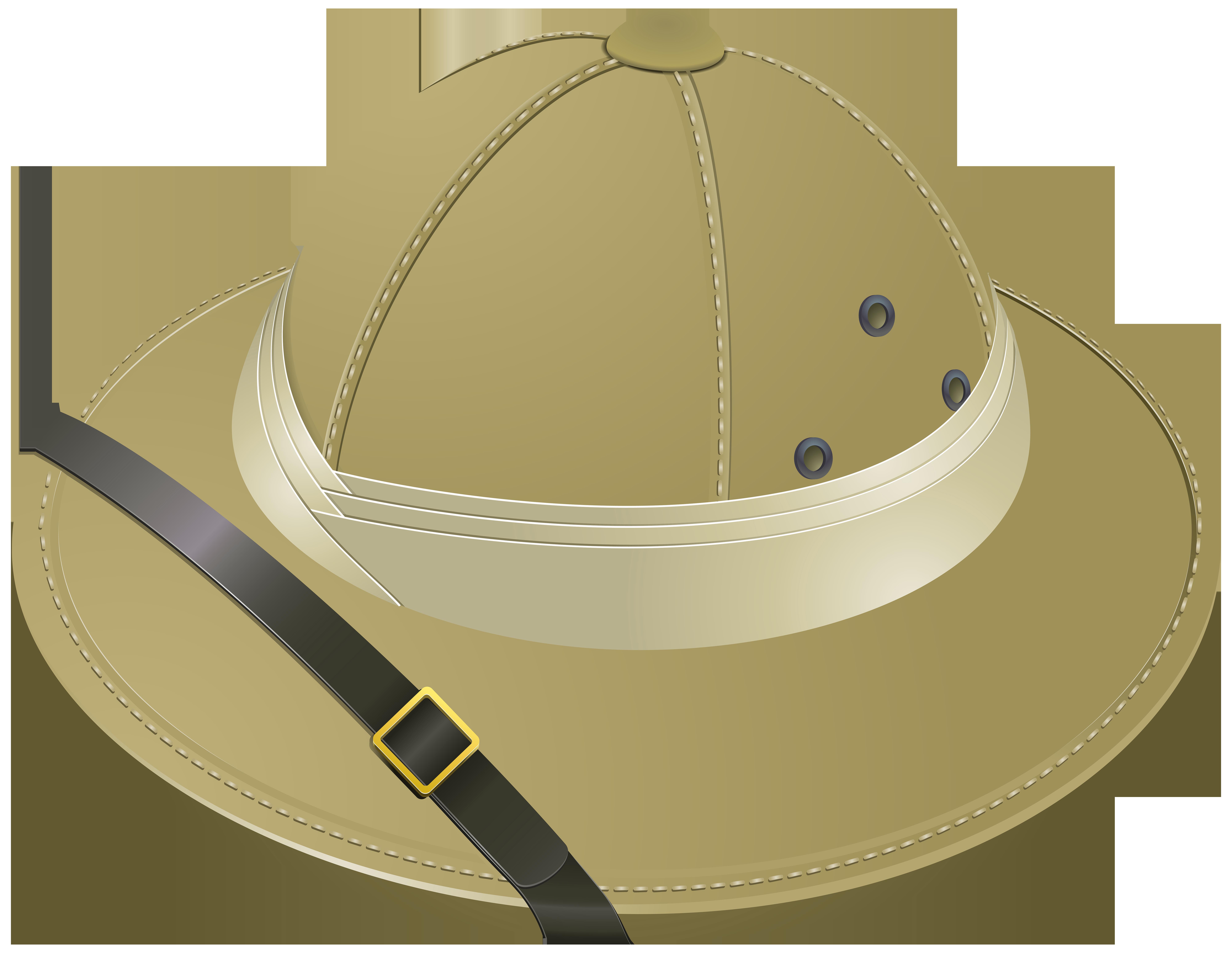 Pith Helmet Transparent PNG Clip Art Image.