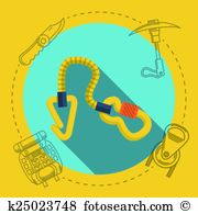 Piton Clipart and Illustration. 12 piton clip art vector EPS.