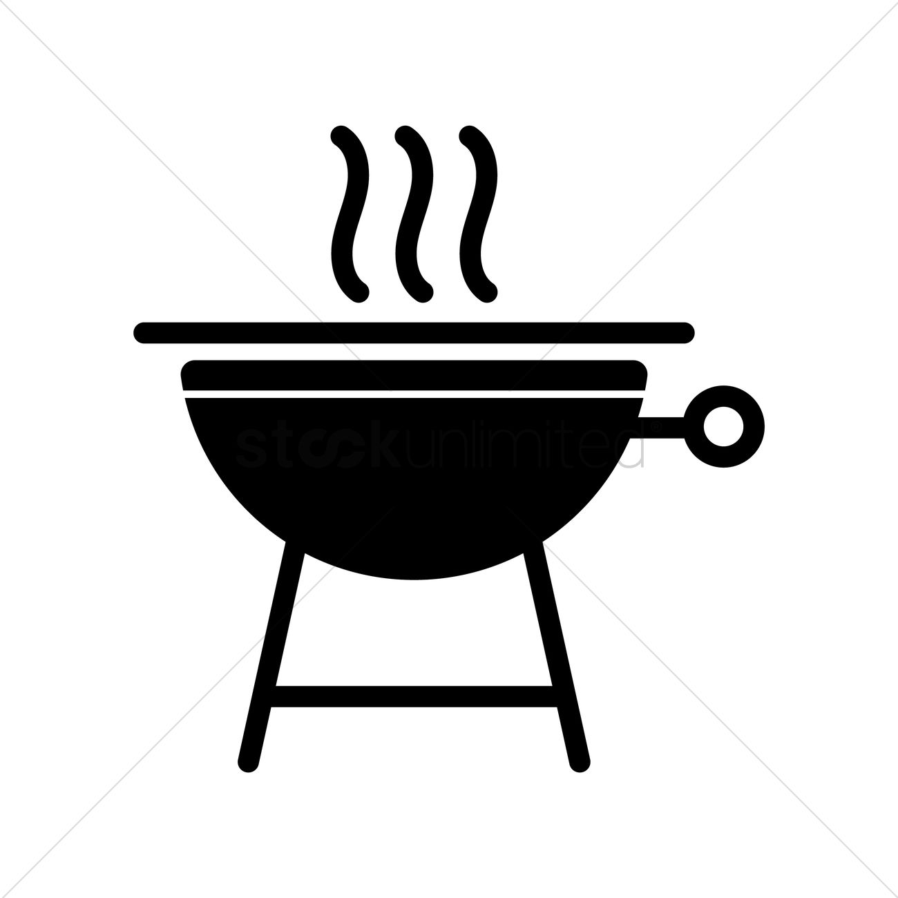 BBQ Smoker Pits Clip Art.