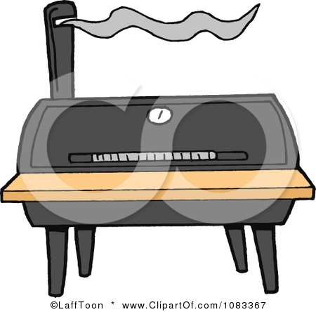 Smoker Pits Clip Art.