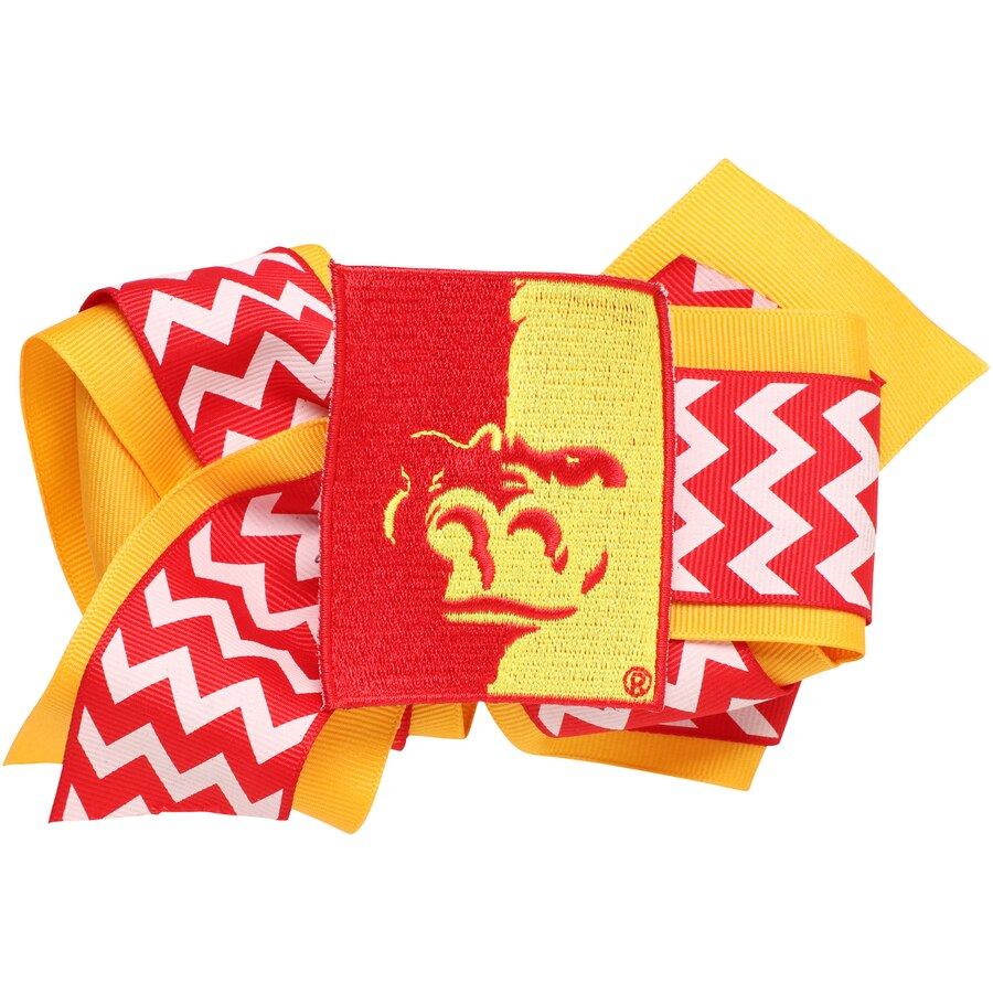 Pittsburg State Gorillas Womens Chevron Logo King Hair Bow.