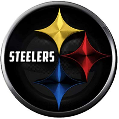NFL Cool Logo Pittsburgh Steelers Football Fan Team Spirit 18MM.