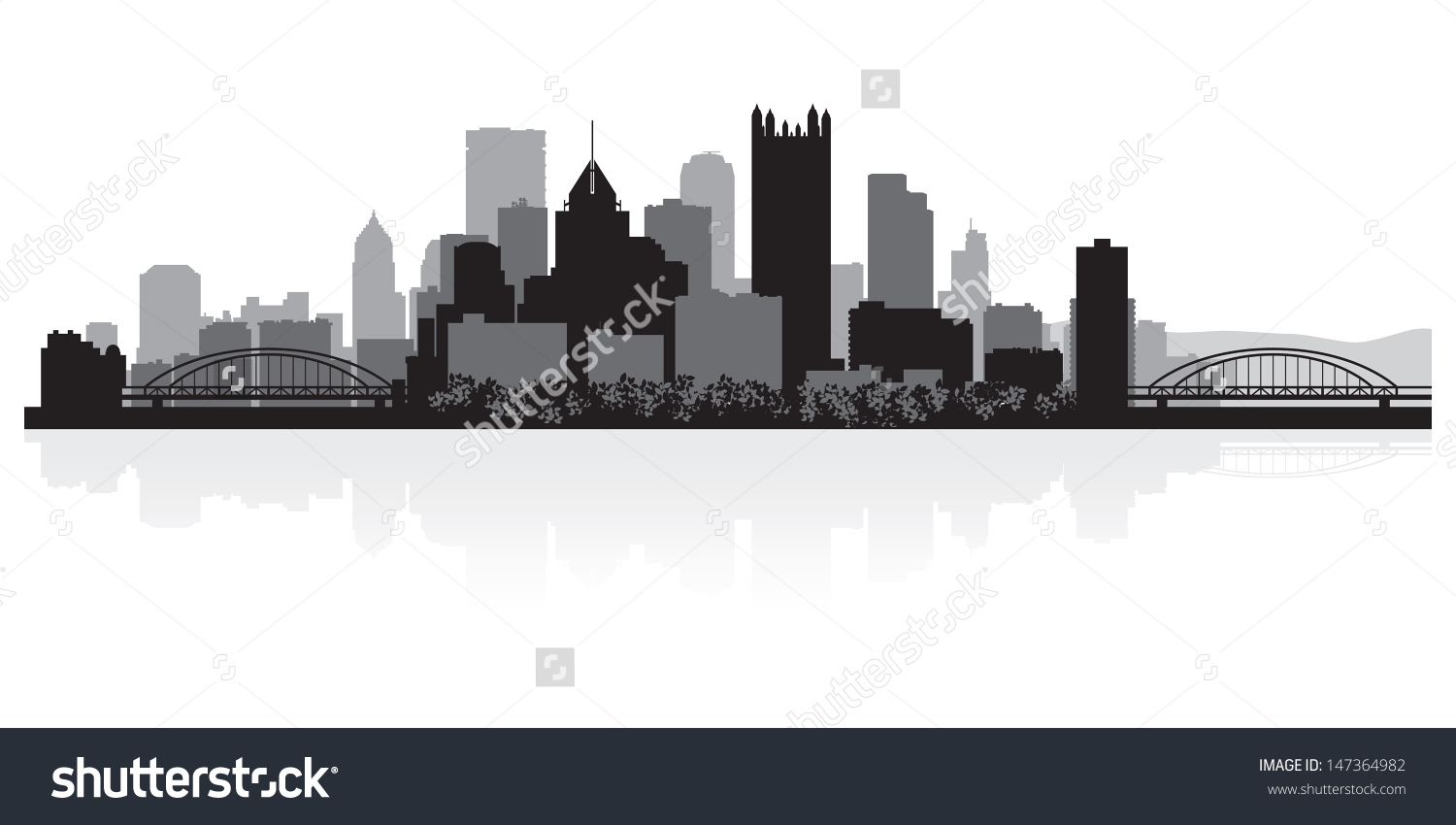 City of pittsburgh clipart.