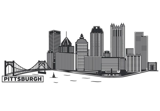 Showing post & media for Cartoon pittsburgh skyline.