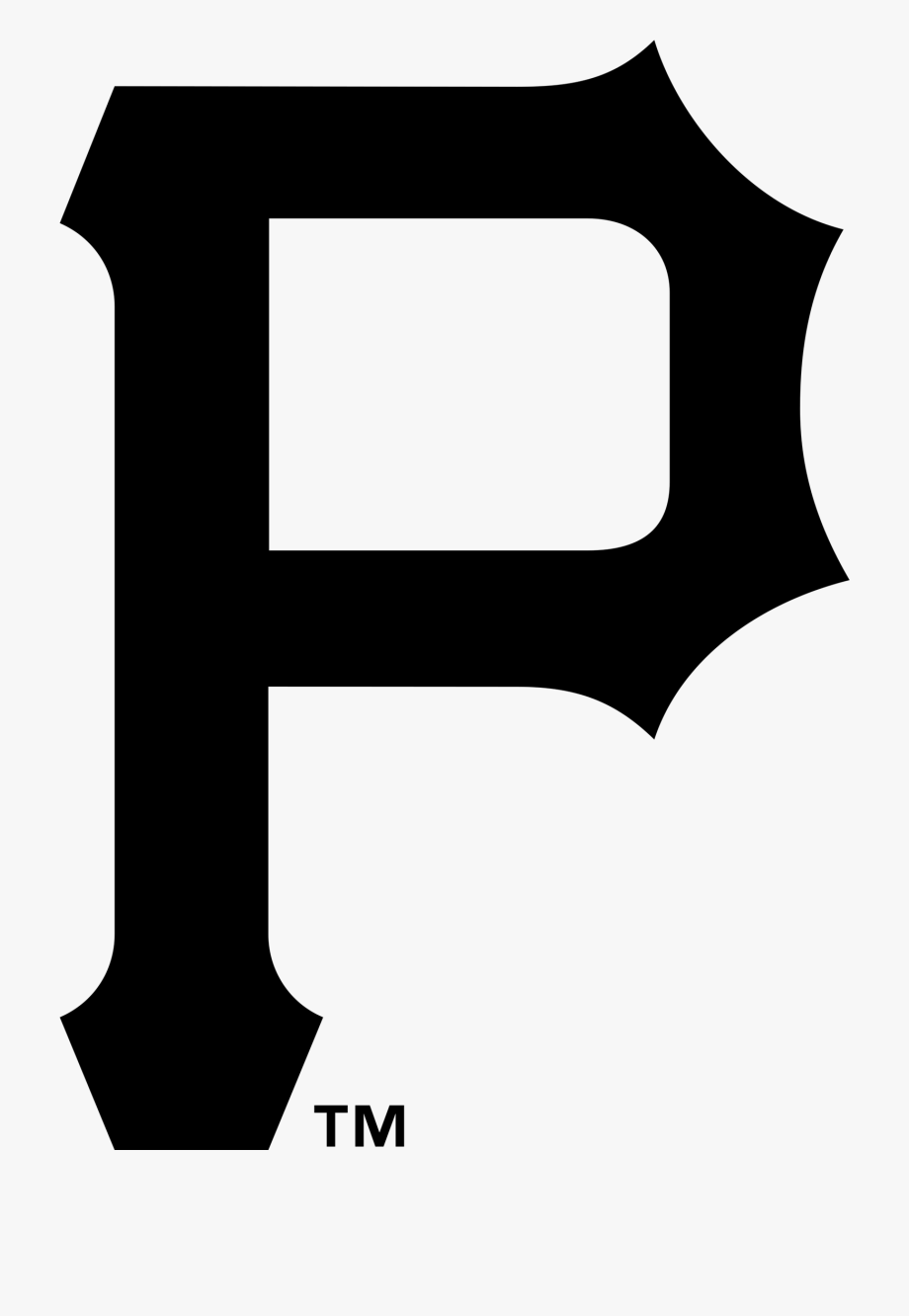Pittsburgh Pirates Png Logo Black And White 2400 In.