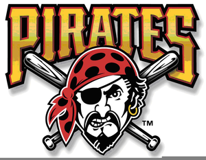 Pittsburgh Pirates Baseball Clipart.