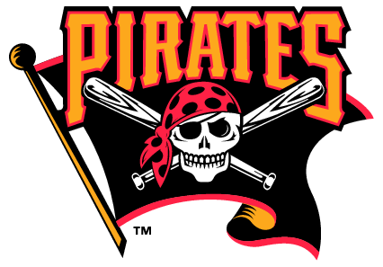 Pittsburgh Pirates Flag Logo transparent PNG.