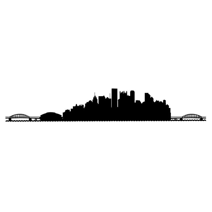Pittsburgh skyline clipart 5 » Clipart Station.