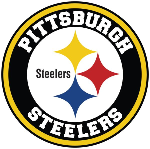 Details about Pittsburgh Steelers Circle Logo Vinyl Decal / Sticker 10  sizes!!.