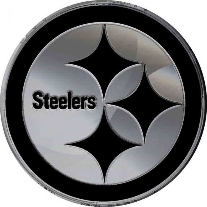 Pittsburgh Steelers Logo Auto Emblem.