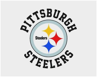 Collection of Steelers clipart.