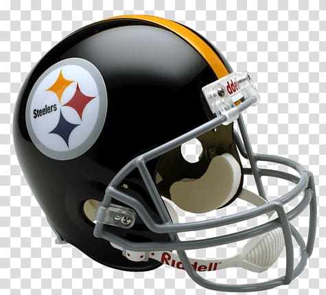 Riddell Pittsburgh Steelers helmet, Pittsburgh Steelers.