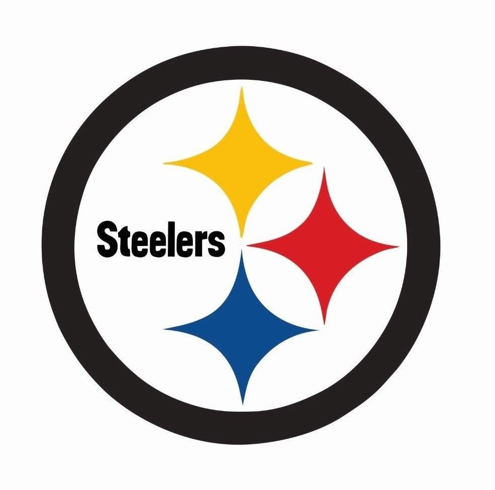 Pittsburgh Steelers NFL Football Color Logo Sports Decal Sticker.
