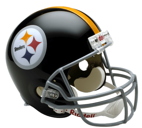 Pittsburgh Steelers Helmet transparent PNG.