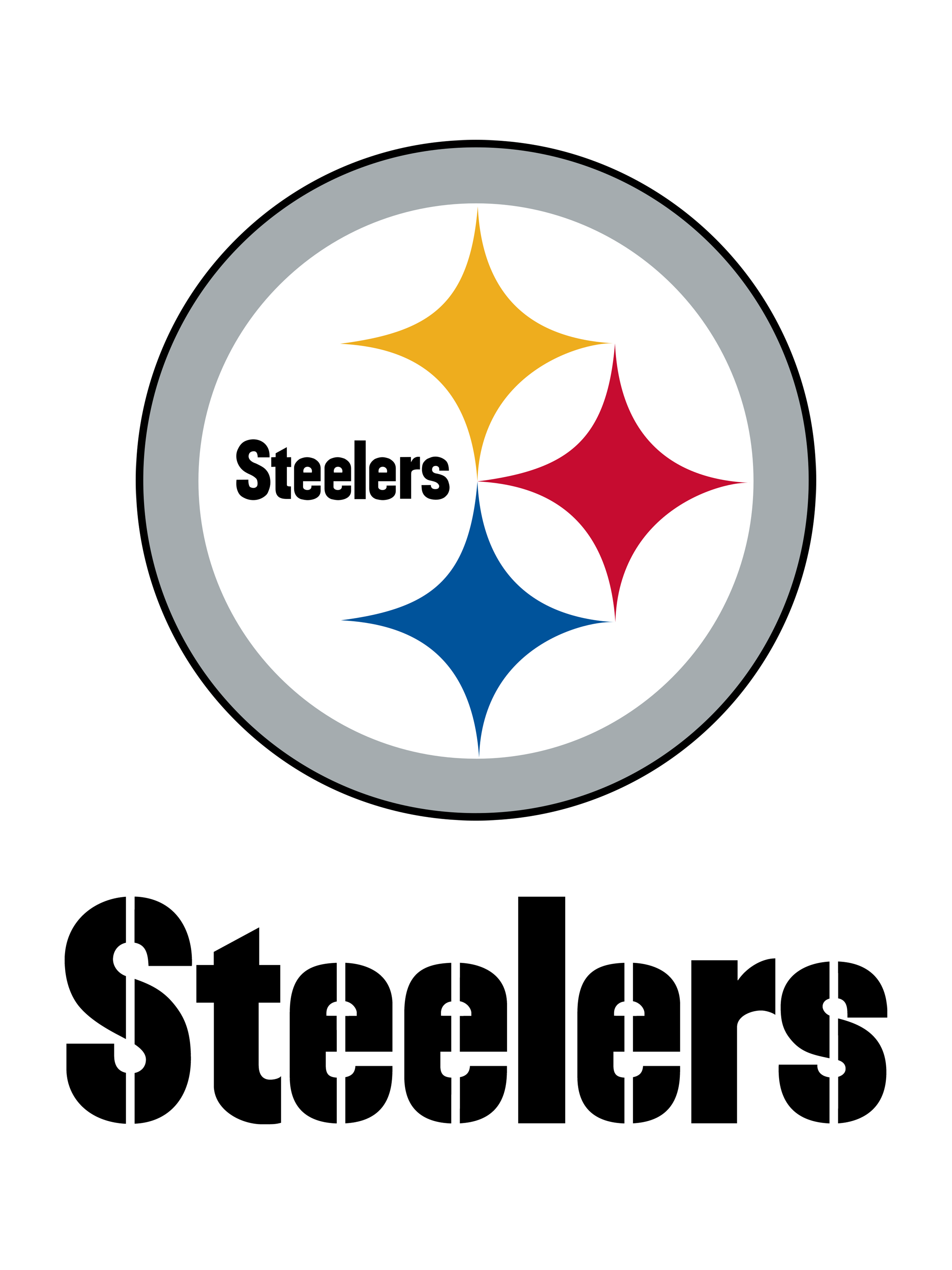 Pittsburgh Steelers Logo PNG Transparent & SVG Vector.