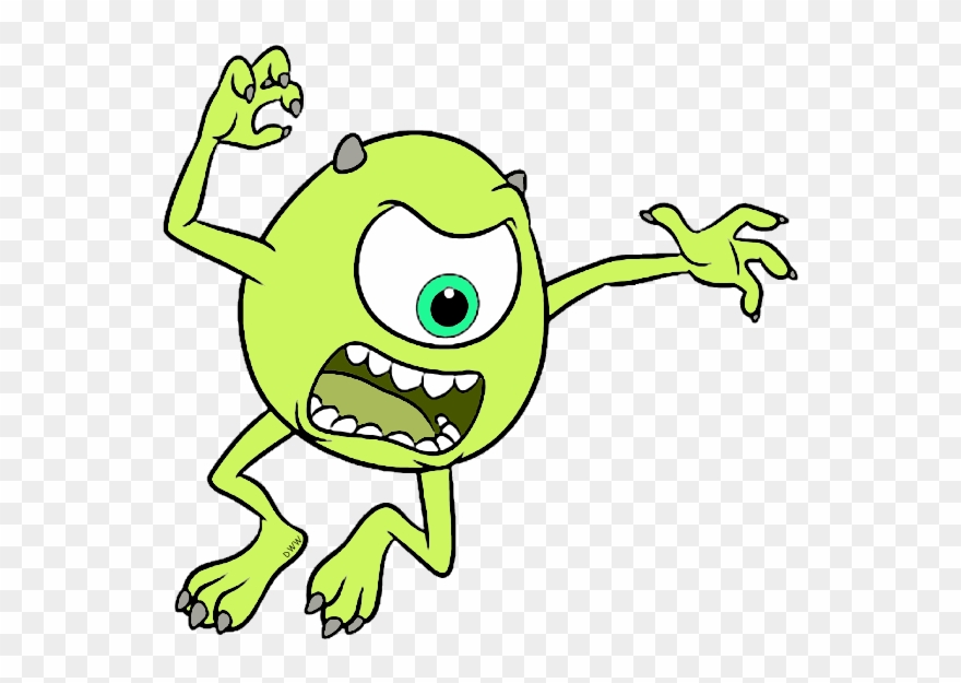 Disney Pixar Monsters University Clip Art Image.