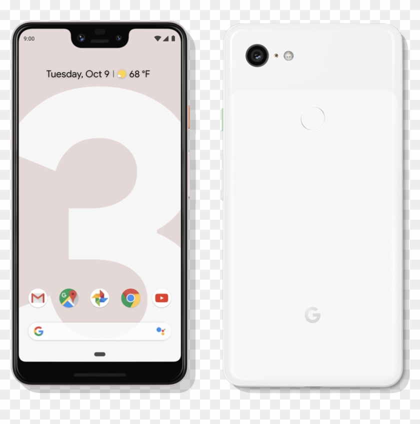 The Notch On The Google Pixel.