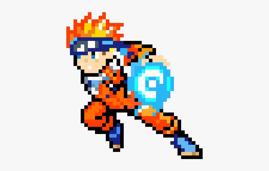 Naruto Pixel Art Gif , Free Transparent Clipart.
